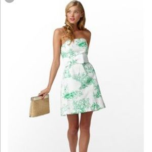 Lily Pulitzer Amberly Dress in Spring Fever Toile